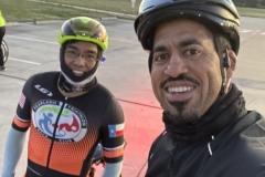 Chris and Anotnio pre-ride