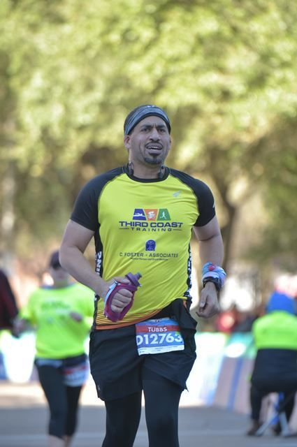 Chevron Houston Marathon Almost Finished