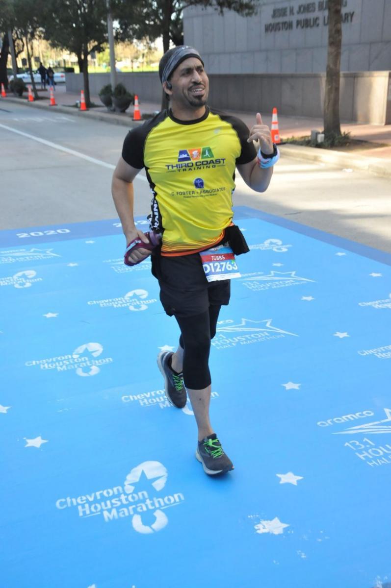 Chevron Houston Marathon Finishing