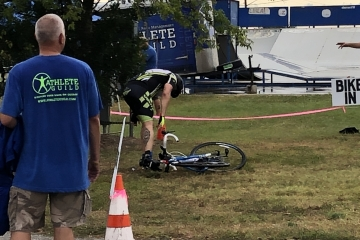 Dropped my bike