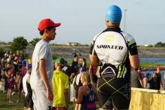 Pre-swim pep talk